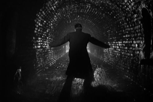 Orson Welles in «The Third Man»