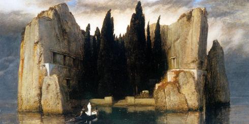 «Die Toteninsel» von Arnold Böcklin