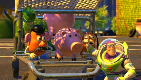 Rex, Mr. Potato Head, Hamm, Slinky Dog und Buzz Lightyear in «Toy Story 2»