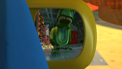 Rex in «Toy Story 2»