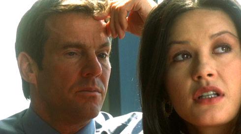 Dennis Quaid und Catherine Zeta-Jones in «Traffic»