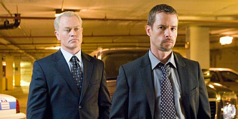 Neal McDonough und Guy Pearce in «Traitor»