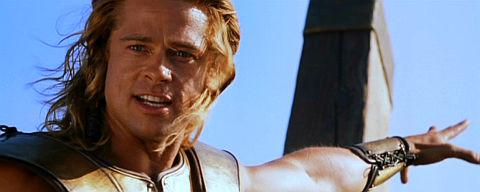 Brad Pitt in «Troy»