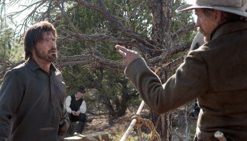 Josh Brolin und Barry Pepper in «True Grit»