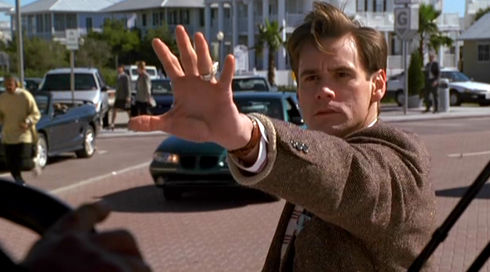 Jim Carrey in «The Truman Show»