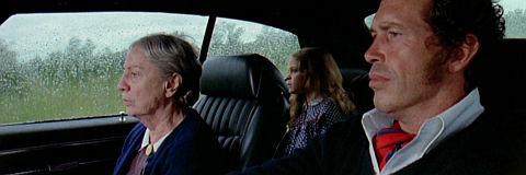 Katherine Squire, Melissa Hellman und Warren Oates in «Two-Lane Blacktop»