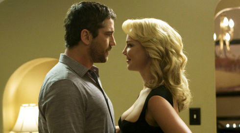 Gerard Butler und Katherine Heigl in «The Ugly Truth»