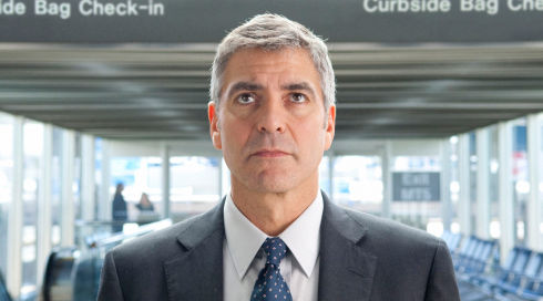 George Clooney in «Up in the Air»