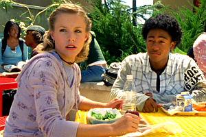 Kristen Bell und Percy Daggs III in «Veronica Mars»