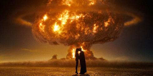 Malin Akerman und Patrick Wilson in «Watchmen»