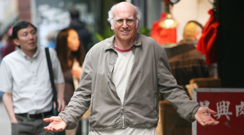 Larry David in Whatever Works