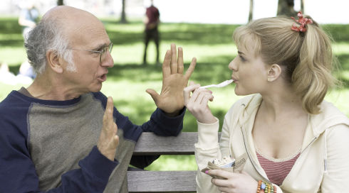 Larry David und Evan Rachel Wood in Whatever Works