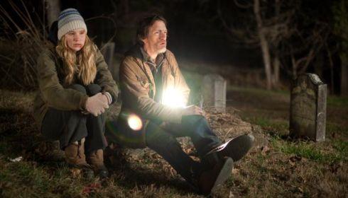 Jennifer Lawrence und John Hawkes in «Winter's Bone»