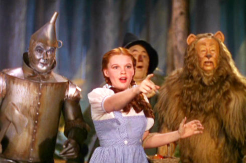 Jack Haley, Judy Garland, Ray Bolger und Bert Lahr in «The Wizard of Oz»