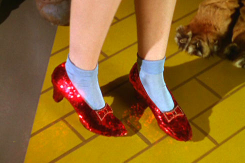Die Ruby Slippers aus «The Wizard of Oz»