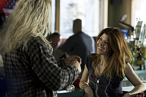Mickey Rourke und Marisa Tomei in «The Wrestler»