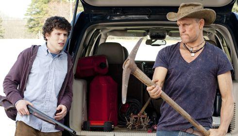Jesse Eisenberg und Woody Harrelson in «Zombieland»